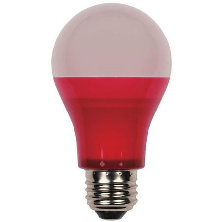 Westinghouse Lighting Westinghouse 40-Watt Equivalent Medium Base Red Omni A19 LED Party Bulb