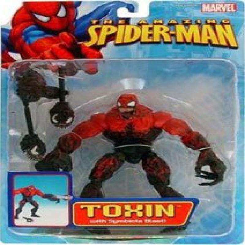 The Amazing Spider-man TOXIN with Symbiote Blast