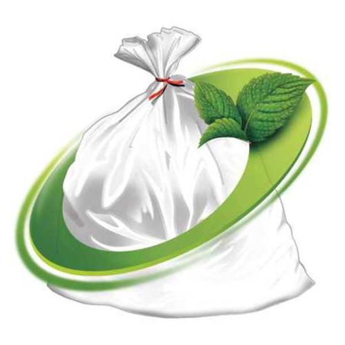 MINT-X MX3346XHC Trash Bag, 38 gal, LLDPE, Clear, PK100