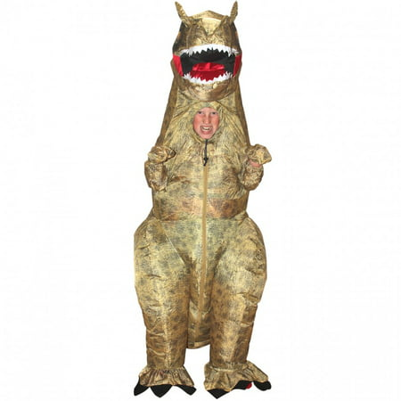 T-Rex Inflatable Boy's Child Halloween Costume, One Size - Halloween Costumes Three