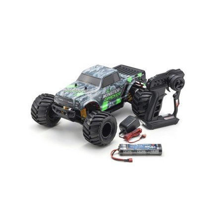 KYOSHO 1/10 Monster Tracker Green MT EP 2WD RTR, KYO34403T1B