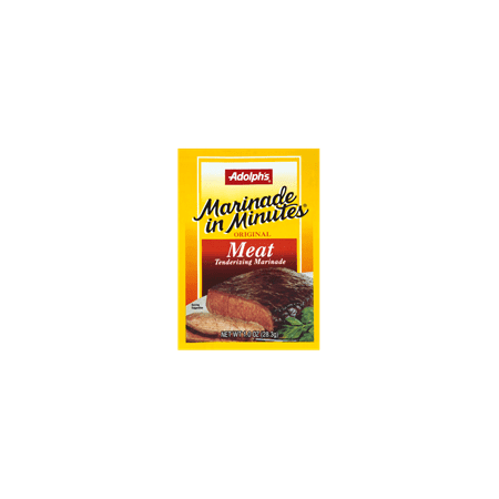 Adolph's Original Meat Tenderizing Marinade, 1 oz (Pack of