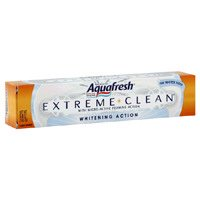 Aquafresh Extreme Clean Fluoride Whitening Mint Avec Action moussante Micro-Active Dentifrice - 5.6 Oz, 3 Pack