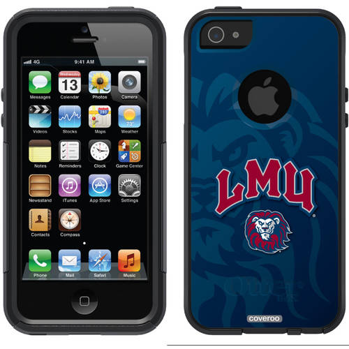 Loyola Marymount Watermark Design on OtterBox Commuter Series Case for Apple iPhone 5/5s