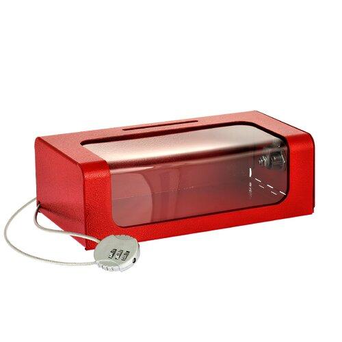 AdirOffice Steel Donation Suggestion Cash Box with Key Lock by