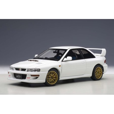 Subaru Impreza 22B White (Upgraded Version) Limited Edition to 1500pcs 1/18 Diecast Model Car by (Autoart Limited Edition)