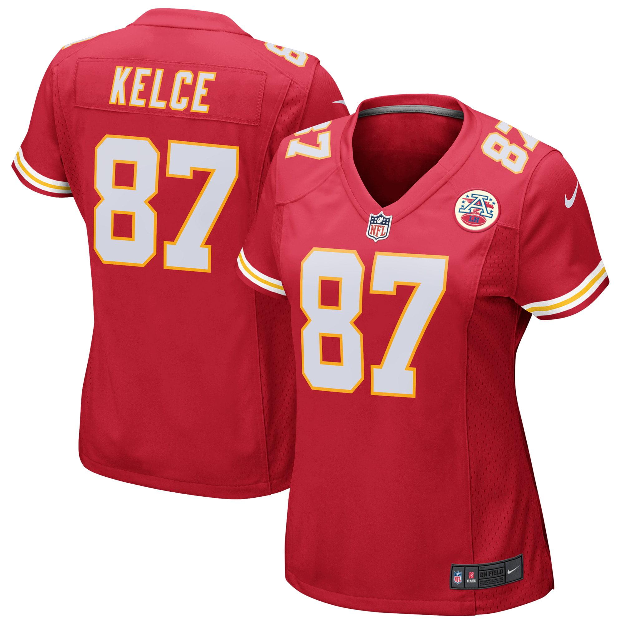 Travis Kelce Kansas City Chiefs Nike Women's Game Jersey - Red - Walmart.com
