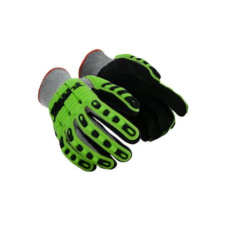 Magid T-REX TRX450 Lightweight Knit Impact Glove  Cut Level A6, 1 Pair - T Rex Gloves