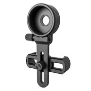 lzndeal Cell Phone Adapter with Spring Clamp Mount Monocular Microscope Binoculars Telescope Mobile Phone Clip New
