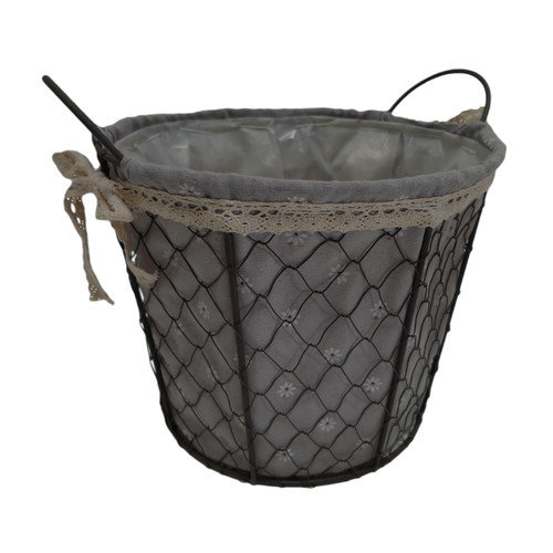 Cheungs Round Lined Wire Basket