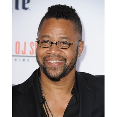 Cuba Gooding Jr At Arrivals For American Crime Story The People Vs O J Simpson Premiere On Fx Stretched Canvas -  (16 x