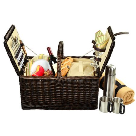 Ascot Coffee (Picnic At Ascot Surrey Picnic Basket  with Blanket and Coffee Flask for)