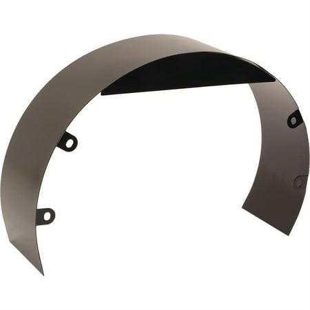 Universal Black Steel 5-1/2 Inch Fan Shroud w/ Mounting Bolt Kit