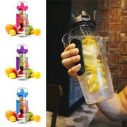 1000ml Fruit Infusion Infusing Infuser Water Bottle Health BPA-Free Plastic UK
