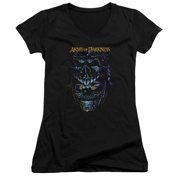 Mgm Army Of Darkness Evil Ash Juniors V-Neck Shirt