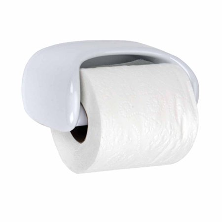 Toilet Paper Holder White Ceramic Porcelain Tissue Holder Walmartcom