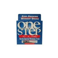ONE STEP AT A TIME NICOTINE ADDICTION WITHDRAWAL SYSTEM - 1 PACK - Contains 4 Re-usable filters