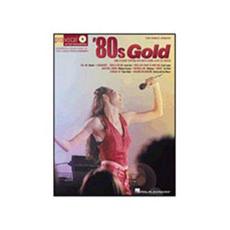 80s Female Rock Singers (Hal Leonard 80s Gold - Pro Vocal Series for Female Singers Book/CD Volume)