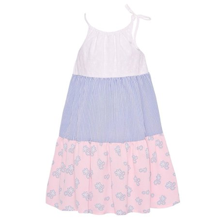 Bonnie Jean Girls 2T-4T Ruffle Tier Dress](Denim Dress For Girls)