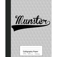 Weezag Calligraphy Paper Notebook: Calligraphy Paper: MUNSTER Notebook (Paperback)