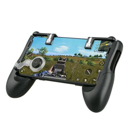 Joystick Throttle (TSV Gaming Joystick Handle Holder Controller Mobile Phone Grip+Shooter For)