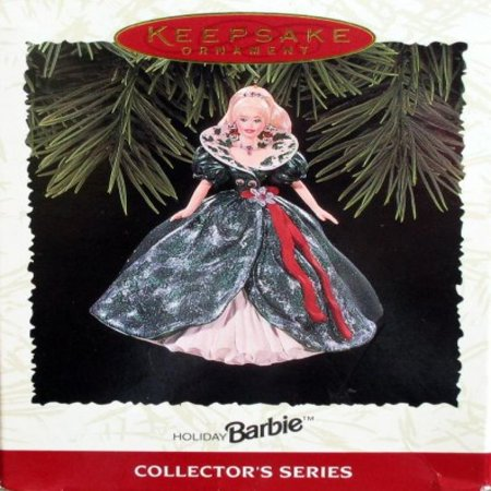 Keepsake Ornament, Holiday Barbie, Collector's Series, Third in the Holiday Barbie Series. Handcrafted, Dated 1995 ()