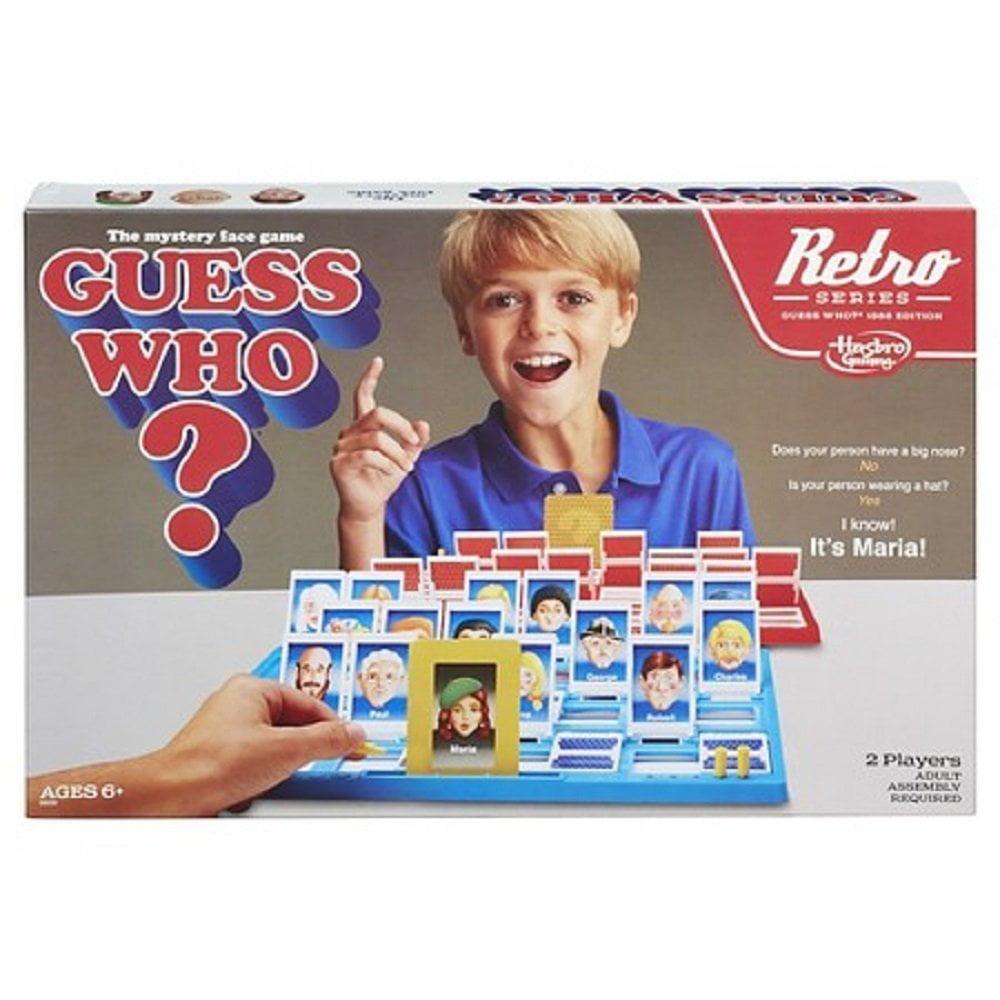 Hasbro World Football Stars Themed Guess Who Junior Fun 2 Player Game