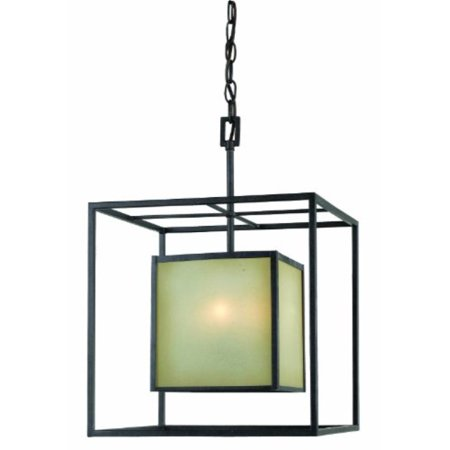 World Imports 4115-55 Hilden Collection 4-Light Hanging Pendant, Aged Bronze ()