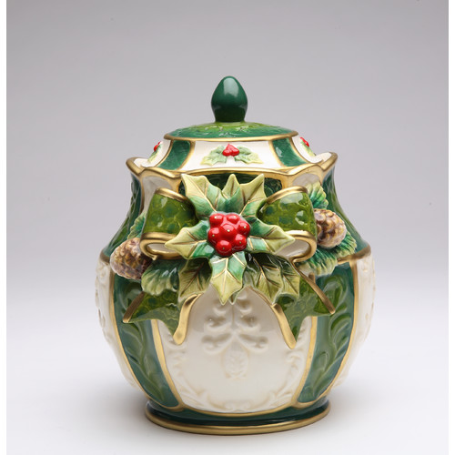 Cosmos Gifts Holly Candy Storage Jar