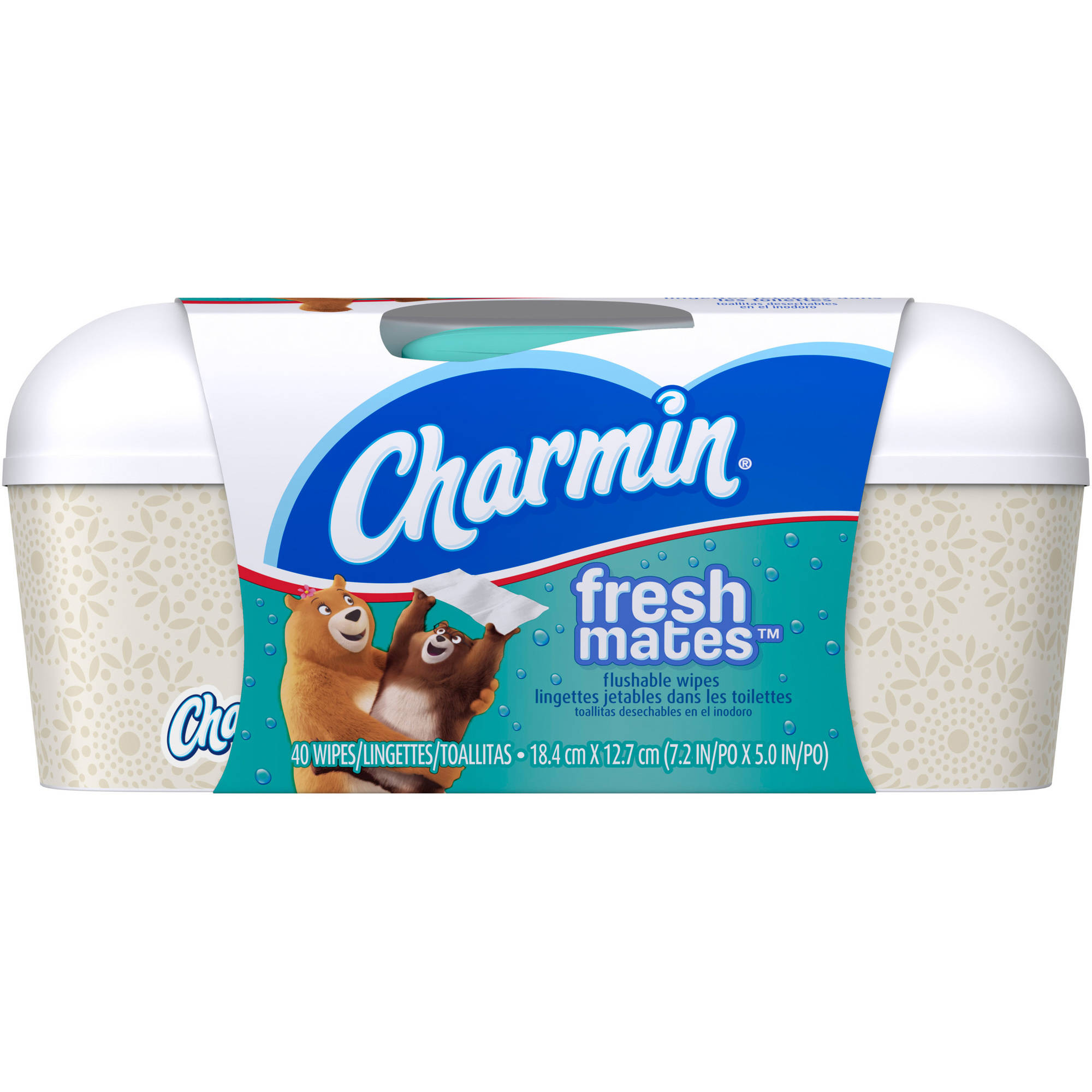Charmin Freshmates Flushable Wipes, 40 sheets