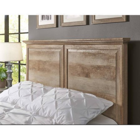 Better Homes & Gardens Crossmill Headboard, Weathered Finish