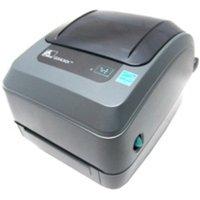 """Refurbished Zebra GX430t Thermal Transfer Printer - Monochrome - Desktop - Label Print - 4.09"""" Print Width - 6 in/s Mono - 300 dpi - 8 MB - USB - Serial - Parallel - LCD - 5"""" Roll Diameter - 4.25"""""""