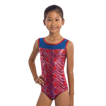 53dbe94c3 Lizatards - Girls Gymnastics Leotards Red White Blue and You by ...
