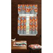 "The Pioneer Woman Flea Market Curtain and Valence Set, Multicolor, 30""W x 60""L, 3 Piece"