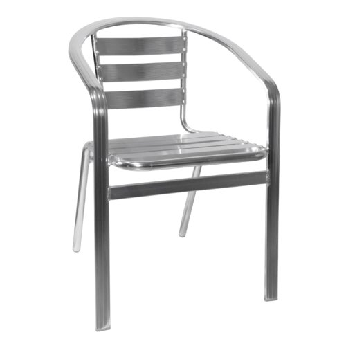 H&D Restaurant Supply, Inc. Stacking Patio Dining Chair