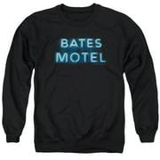 Bates Motel Sign Logo Mens Crewneck Sweatshirt