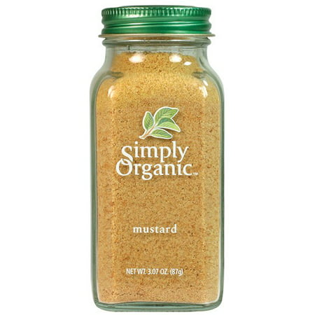 Simply Organic Mustard Seed Ground Certified Organic, 3.07 Oz
