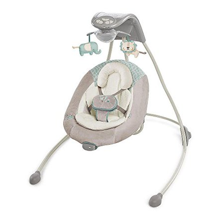 Ingenuity Inlighten Cradling Swing Cambridge Walmart