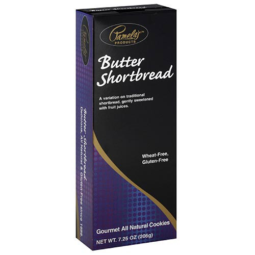 Pamela's Products Gluten-Free Butter Shortbread Cookies, 7.25 oz (Pack of 6) by Generic