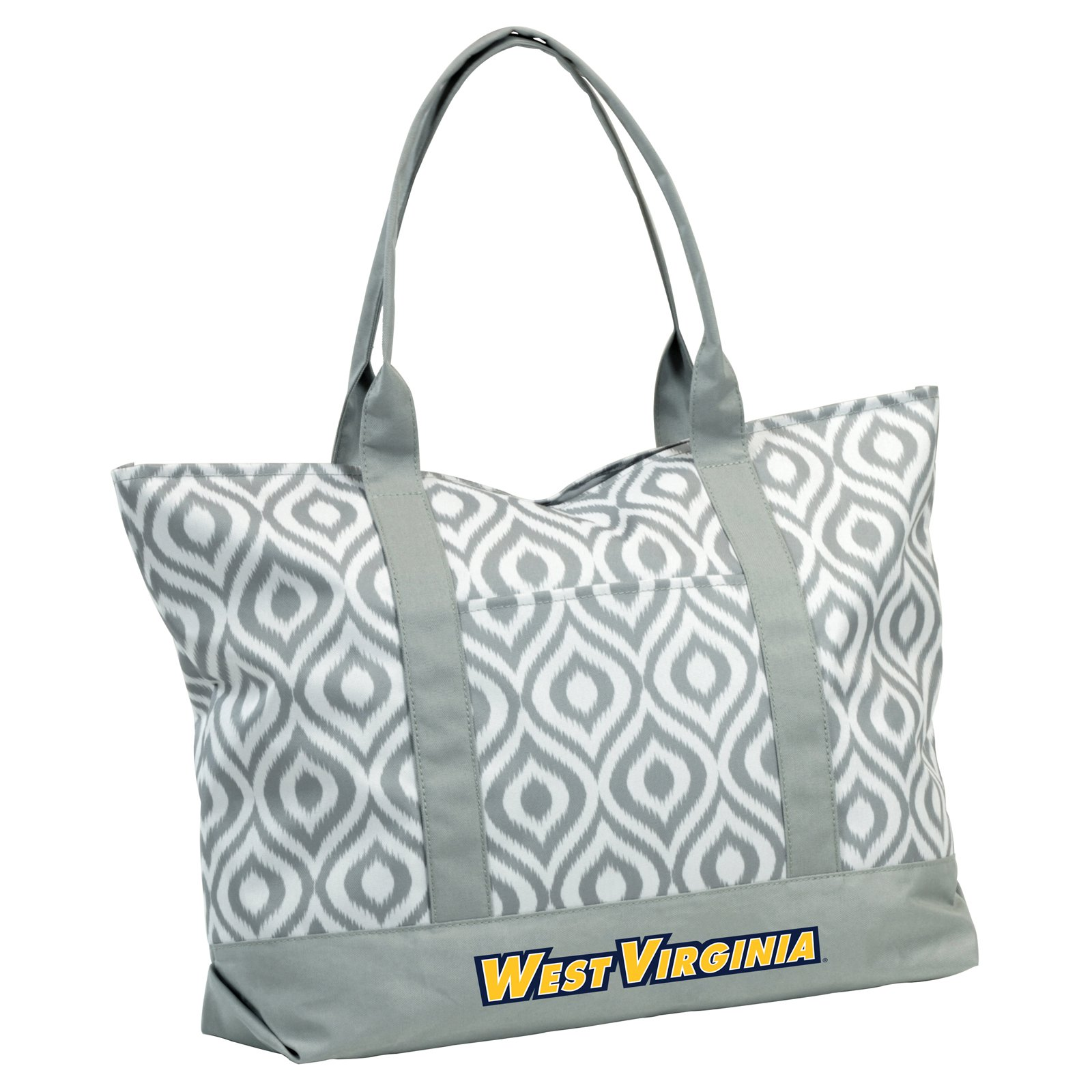 Logo NCAA West Virginia Ikat Tote