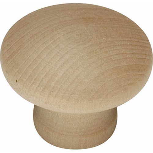 Hickory Hardware Natural Woodcraft Round Knob