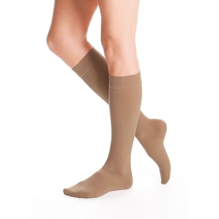 AccuCare Canada Unisex 20-30mmHg Advantage Series Closed Toe Knee Highs (Almond) - By Duomed (Medi) - image 2 of 2