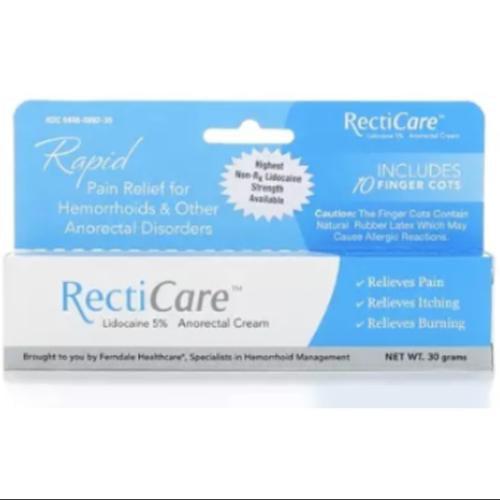 RectiCare Anorectal Cream, 30 grams