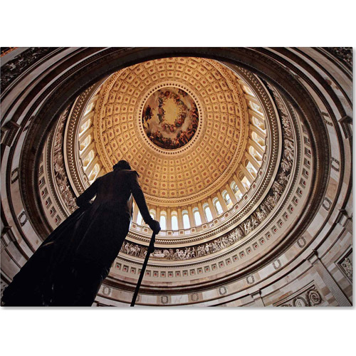 "Trademark Fine Art ""US Capitol Rotunda"" Canvas Art by Gregory O'Hanlon"