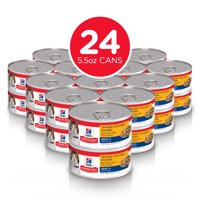 (24 Pack) Hill's Science Diet Adult 7+ Tender Wet Cat Food, 5.5 oz. cans