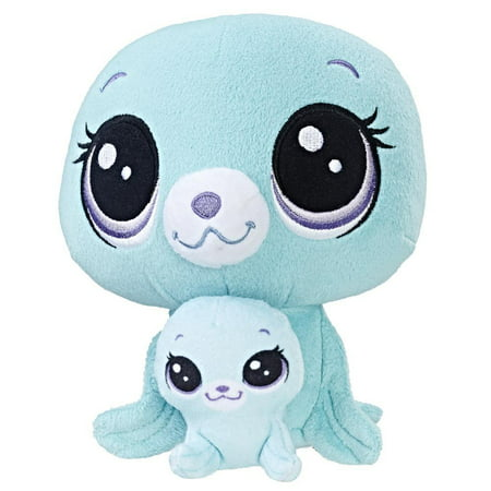 Littlest Pet Shop Vita Arcticson and Pinney Arcticson Plush (Littlest Pet Shop Plush Toy)