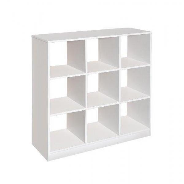 Badger Basket 3 by 3 Storage Unit, White by Badger Basket
