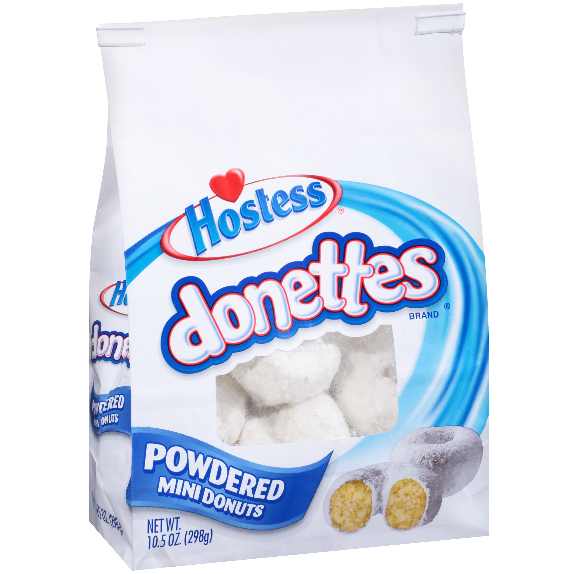 Hostess�� Donettes�� Powdered Mini Donuts 10.5 oz. Stand-Up Bag