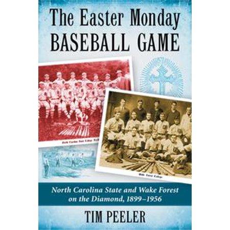 Baseball Eraser (The Easter Monday Baseball Game - eBook )