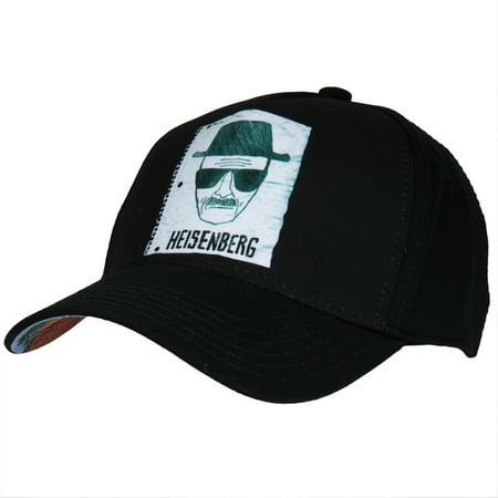 Bad Hat (Breaking Bad - Heisenberg Sketch Fitted Cap )